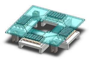 Precisely controlling the movement of levitating objects for many manufacturing applications.