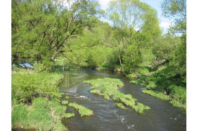 Preservation of floodplains is flood protection