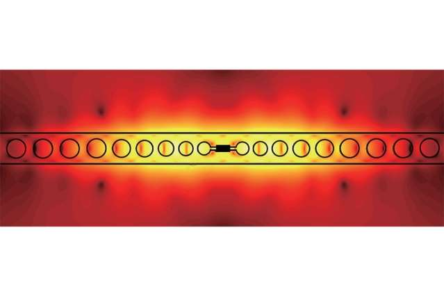 Prototype device enables photon-photon interactions at room temperature