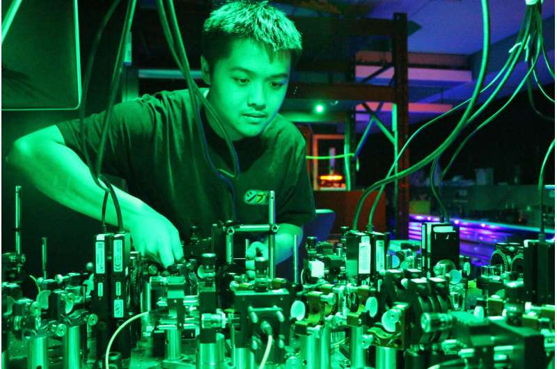 Quantum RAM: Modelling the big questions with the very small