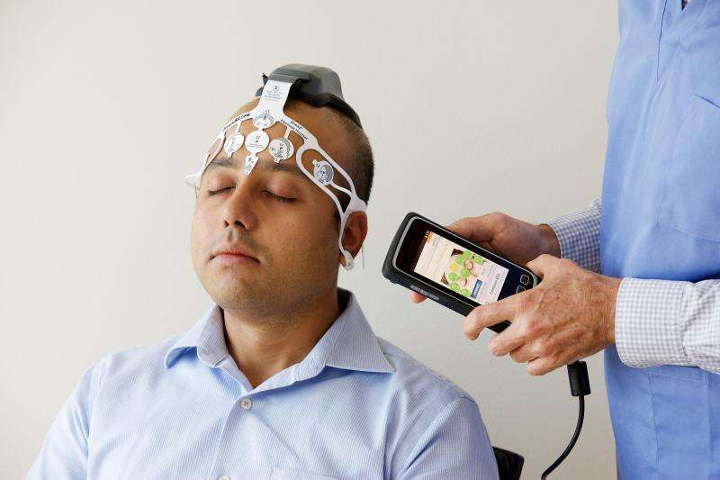 Quickly assessing brain bleeding in head injuries using new device