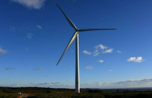 """""""This new material (Eurotapes) could be used to make more potent and lighter wind turbines,"""" Xavier Obradors said, pre"""