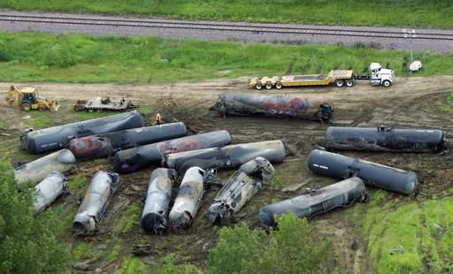 Report: Key changes needed to prevent fiery rail crashes
