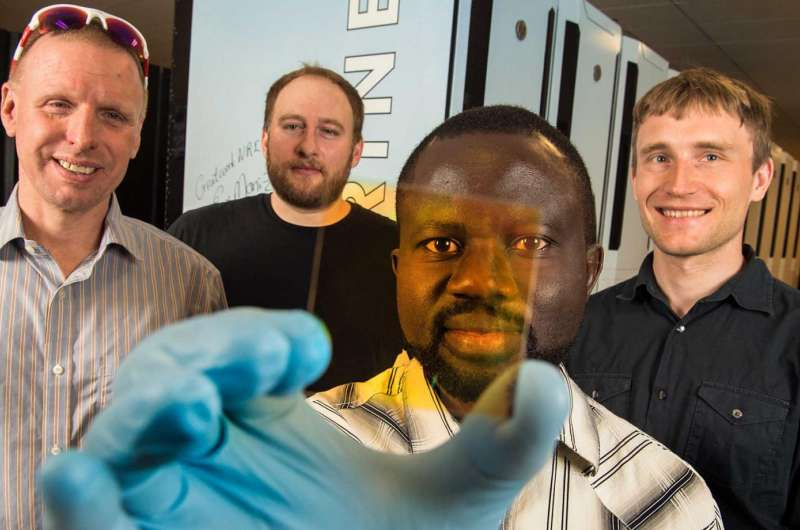Research effort creates new alloys, phase diagram