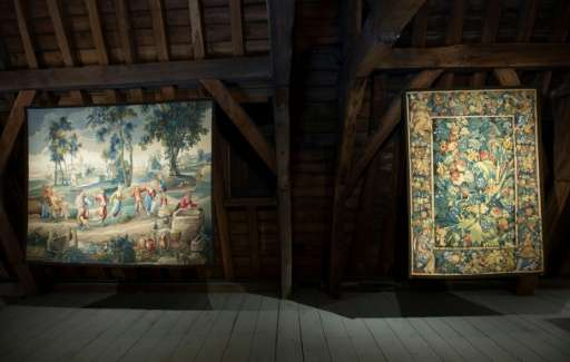 Restored tapestries are displayed at the Royal Manufacturers De Wit in Mechelen where some projects have cost around one million