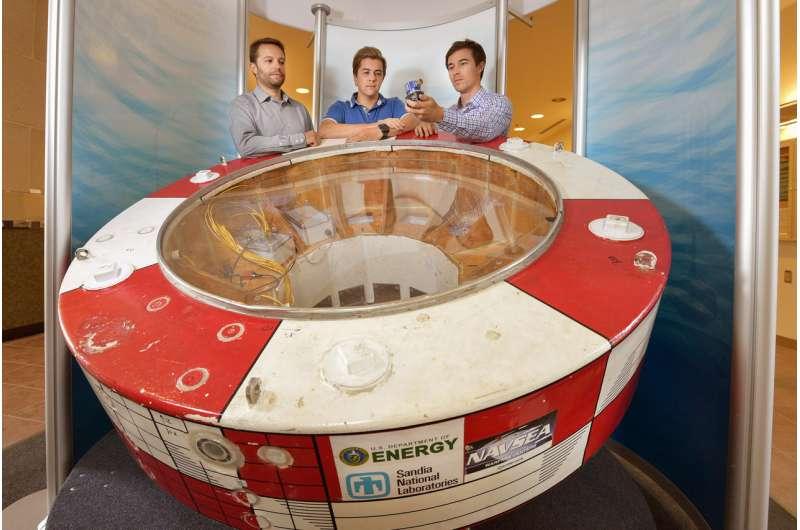 Robotics principles help Sandia wave energy converters better absorb power of ocean waves