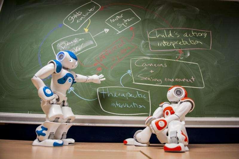 Robots to help children with autism