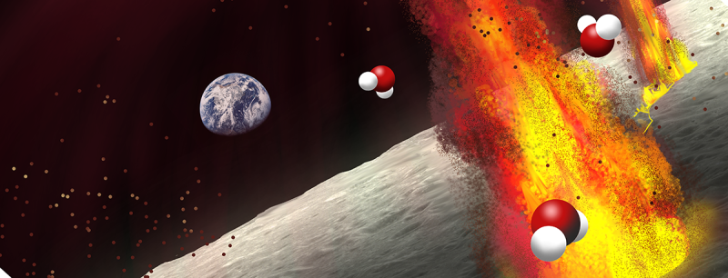 Scientists spy new evidence of water in the moon's interior