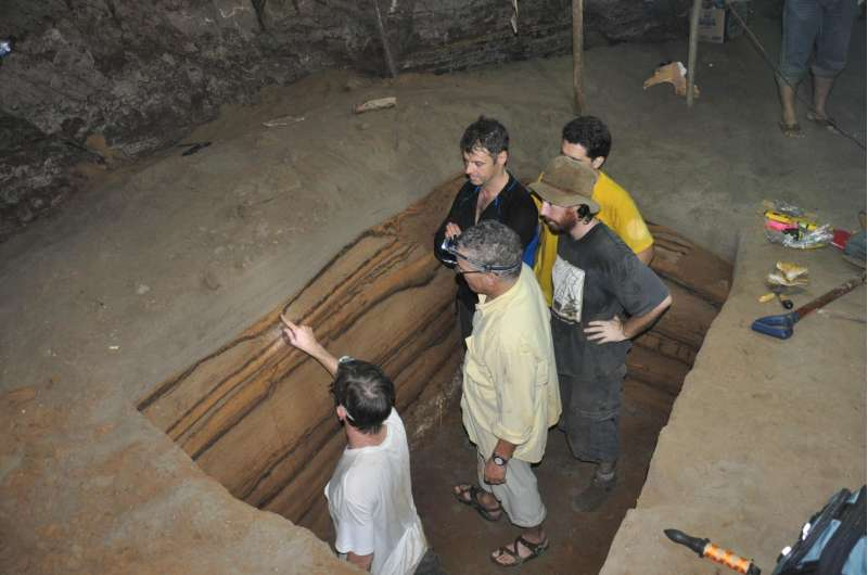 Sea cave preserves 5,000-year snapshot of tsunamis