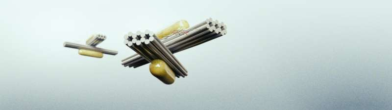 Self-assembled nanostructures can be selectively controlled