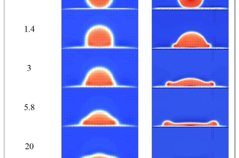 Simulating splash at the microscopic level