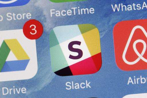 Slack's messaging service sets sights on big businesses