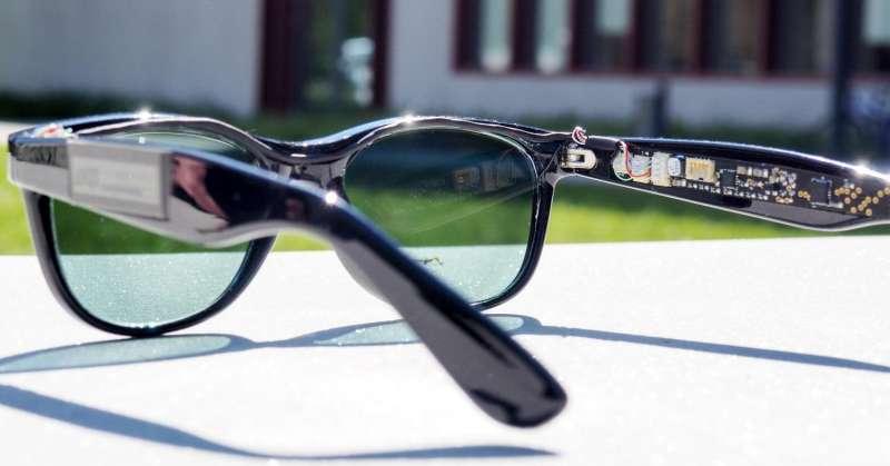 Solar glasses generate solar power
