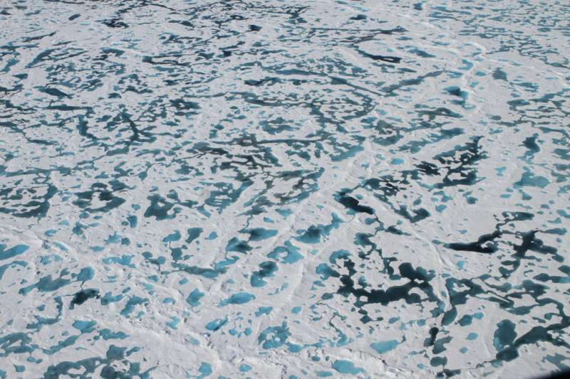 Solving the mystery of the Arctic's green ice