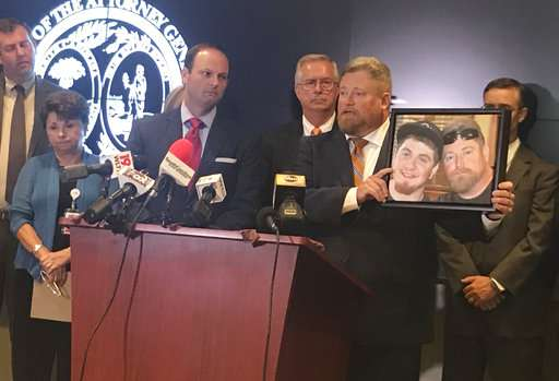 South Carolina sues drug manufacturer over opioid crisis