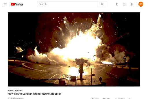 SpaceX bloopers video: 'How NOT to land an orbital rocket'