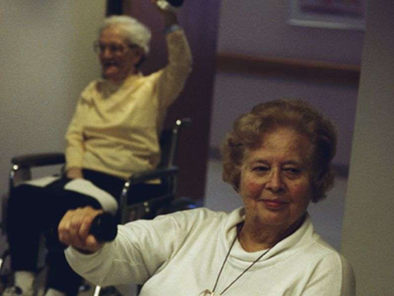 Strength training might help prevent seniors' falls