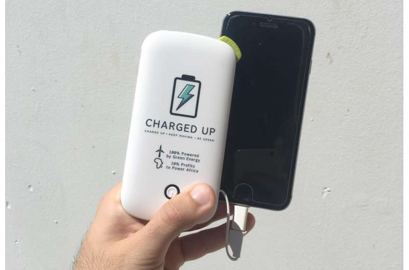 Students launch green phone-charging firm