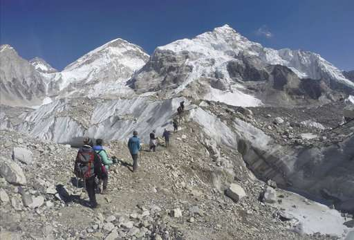 Study: Asia's glaciers face massive melt from global warming