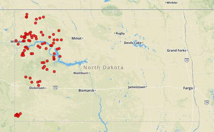 Study finds 6,600 spills from fracking in just four states
