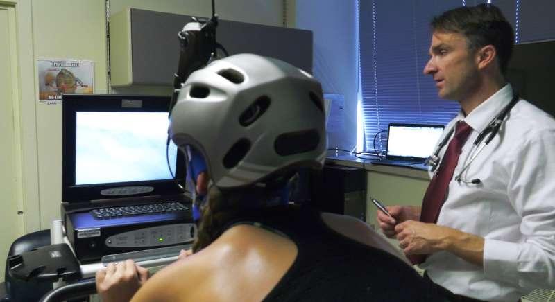 Study: New exercises help athletes manage dangerous breathing disorder