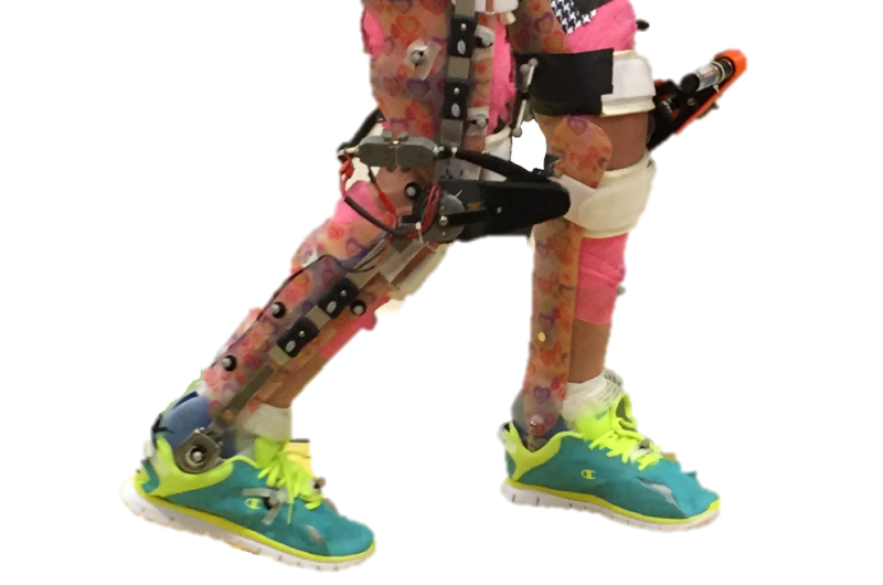 Study shows wearable robotic exoskeletons improve walking for children with cerebral palsy