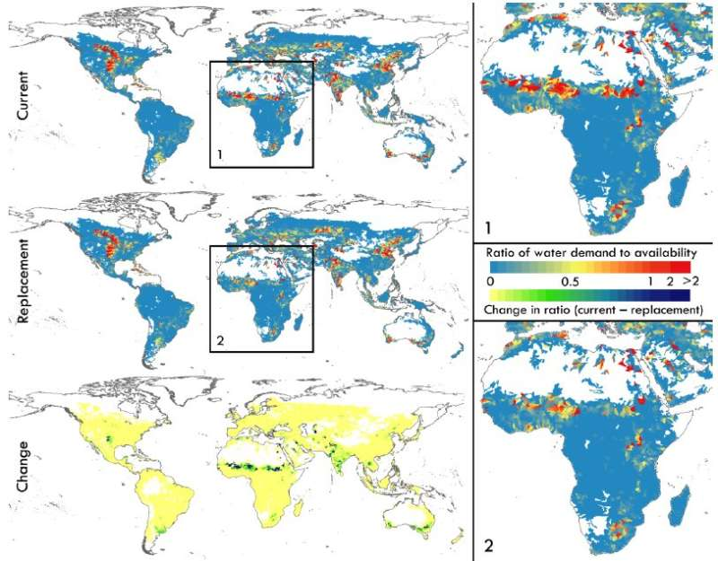 Swapping where crops are grown could feed an extra 825 million people