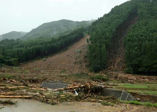 Swathes of Kyushu—the southernmost of Japan's four main islands—have been left devastated after torrential downpours in the regi