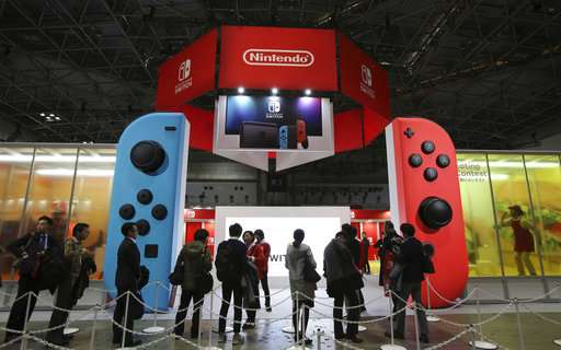Switch helps Nintendo half-year net profit soar 35 percent
