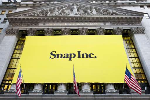 Tencent buys 10 percent stake in Snap