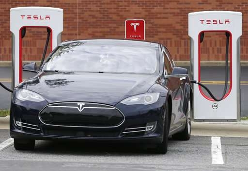 Tesla puts charging stations in more locations