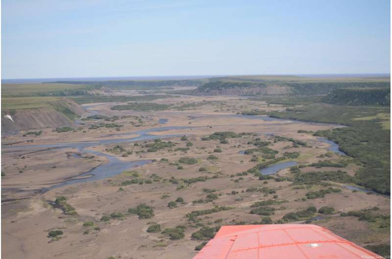 Thawing permafrost releases old greenhouse gas