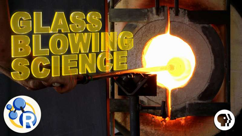 The art and science of glassblowing (video)