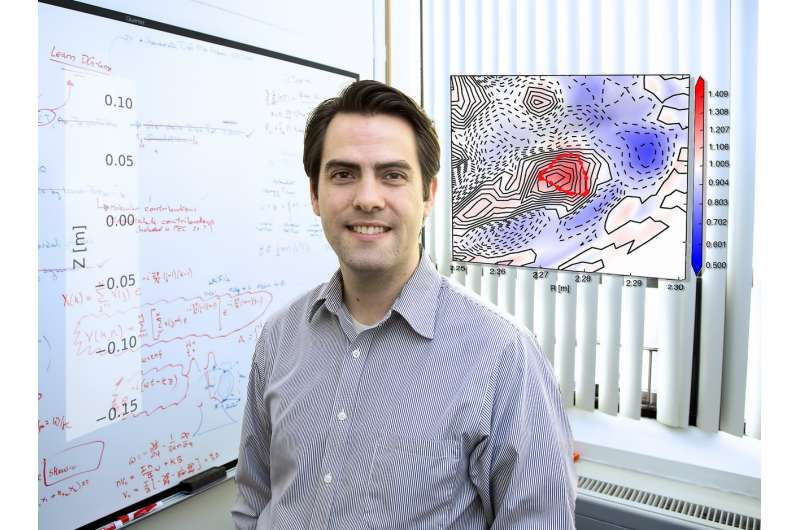 The blob that ate the tokamak: Physicists gain understanding of bubbles at edge of plasmas