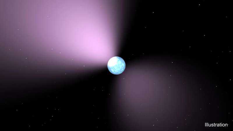 The case of the 'missing link' neutron star