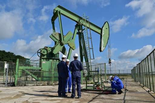 The days are numbered for this small oil well outside Paris under a new law that would ban fossil fuel production in France.