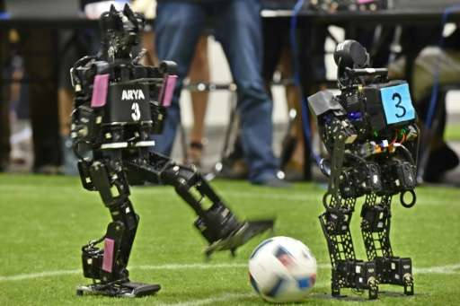 The game, which Bordeaux won 4-0, was one of the gripping final matches in a four-day event that saw about 3,000 researchers and