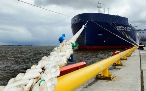 """The new Russian """"Christophe de Margerie"""" Arctic LNG tanker is to carry the first shipment from the Yamal LNG terminal."""