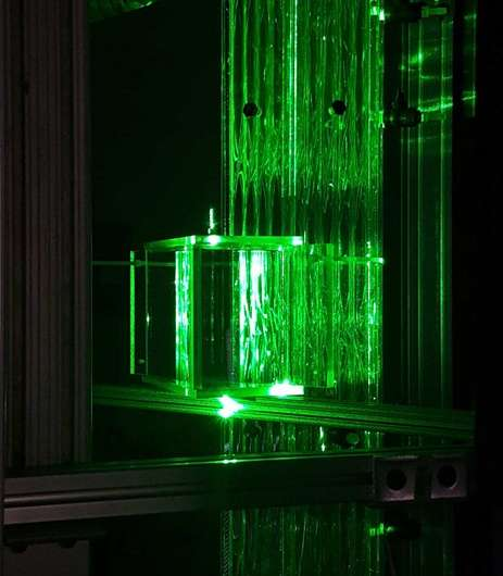 Thermal hydraulic researchers build largest transparent fuel test assembly in the world