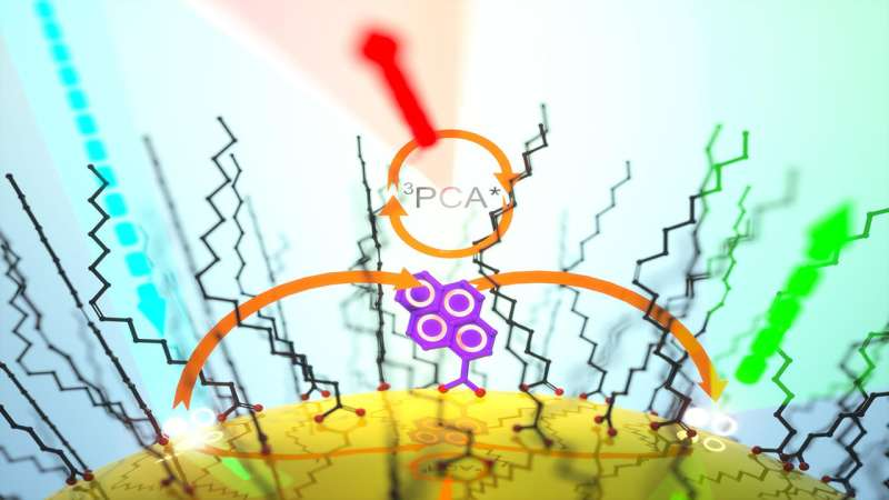 Thermally activated delayed photoluminescence from semiconductor nanocrystals
