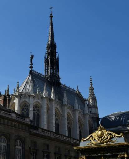 -The Sainte Chapelle in Paris was built by French king Louis IX to house relics including parts of the True Cross and the Holy L