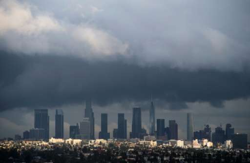 The US Drought Monitor said northern California is out of drought conditions following a series of rain storms, but much of the