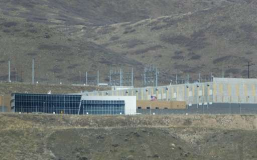 The US National Security Agency, which operates this ultra-secure data collection center in Utah, is one of the key US spying op