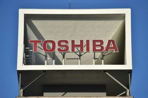 The value of Toshiba shares has been sliced in half since late December
