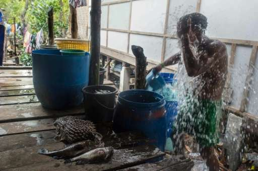 The waters that have provided for Myanmar's Moken people for generations have been devastated by the commercial fishing industry