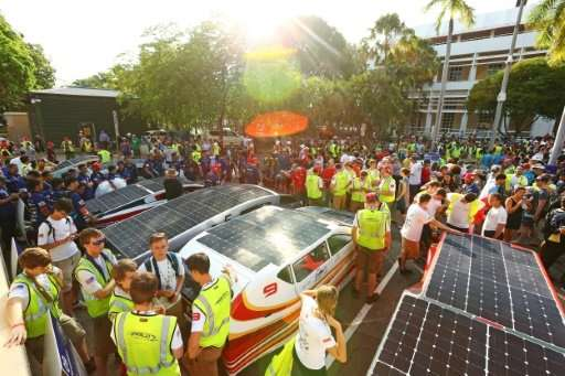 The World Solar Challenge, first run in 1987 and last held in 2015, began in a high-tech, futuristic flurry from Darwin's State