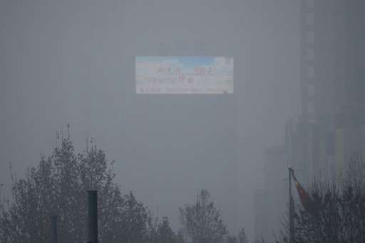 Toxic smog in China has caused schools, factories, construction sites, roads and airports to close