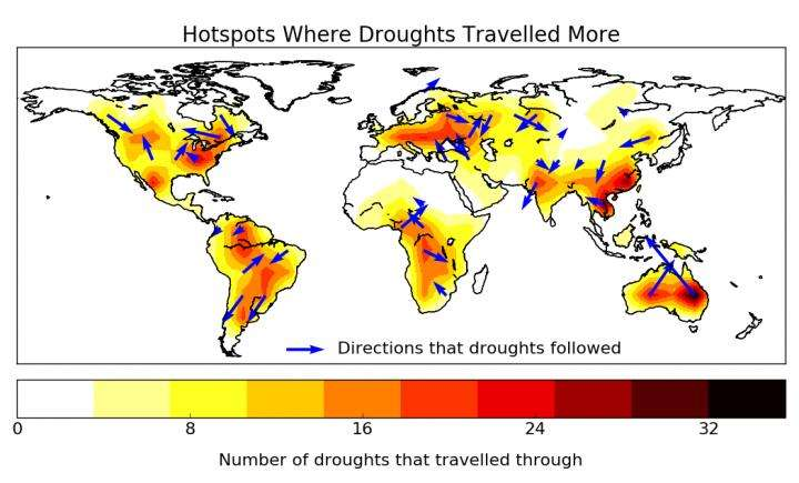 'Traveling' droughts bring new possibilities for prediction