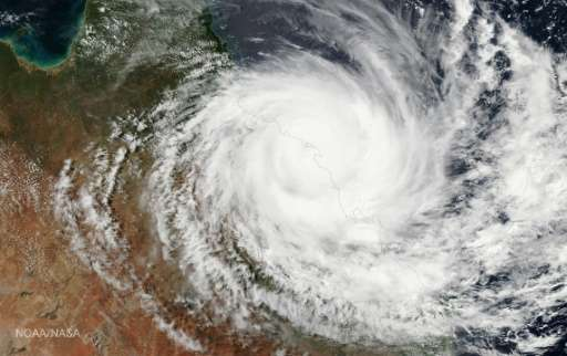 Tropical Cyclone Debbie smashed into northeast Australia this week, with coastal residents battling lashing rain and howling win