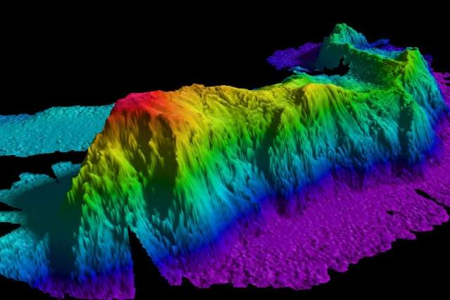 Turbulence from seafloor topography may explain longstanding question about ocean circulation